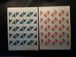 RUSSIA 1966 MNH (**)international Competition.weightlifting. Struggle - Full Sheets