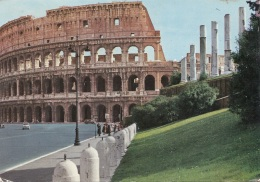 ROMA - Das Kolosseum, Karte Gel., 4 Fach Frankierung - Sonstige