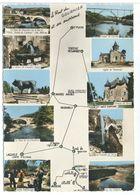 CPSM  Recoules D'aubrac Hotel Du Pont De Gournier  Multi-vues - France