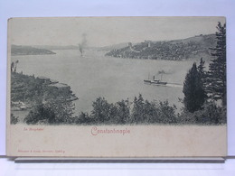 CONSTANTINOPLE -  LE BOSPHORE - DOS SIMPLE - ETAT NEUF - Turquie