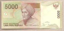 Indonesia - Banconota Non Circolata FdS Da 5000 Rupie P-142d - 2004 - Indonesia