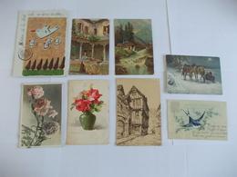 Lot De 8 Cartes Diverses - Cartes Postales