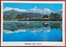 NEPAL - Machhapuchhre (Fish Tail) Mountain And Phewa Tal - Himalaya Nv - Nepal