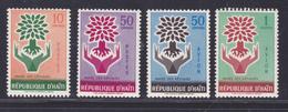 HAITI N°  431 & 432, AERIENS N° 187 & 188 ** MNH Neufs Sans Charnière, TB (D5357) Année Mondiale Du Réfugié - Haïti
