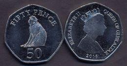 Gibraltar 50 Pence 2016 UNC - Gibraltar
