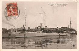 CPA-1908-MARINE NATIONALE-CONTRE TORPILLEURS-BALISE _BELIER-BE - Guerre