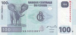 Congo 100 Francs 2007 Pick 98.a UNC - Congo