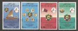 Qatar - 1990 - Série 11e Session Du Conseil De Coopération Du Golfe - N/O - Qatar