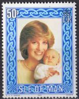 ROYAUME UNI (Ile De Man) - 21e Anniversaire De La Princesse De Galles - Isle Of Man
