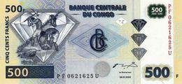 Congo 500 Francs 2002 Pick NEW UNC - Congo