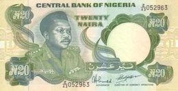 Nigeria 20 Naira 1984-2000 Pick 26.d UNC - Nigeria