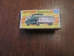 BX63 Matchbox, Boite D'origine Superfast N°50, Manque Rabat D'un Coté - Accessories