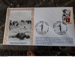 Pli  2004 Colleville Sur Mer Omaha Overlord 1ere Division US . - Guerre Mondiale (Seconde)