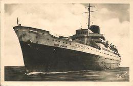 CPA-1945-PAQUEBOT VILLE D ORAN-Cie Generale Transat--TBE-RARE - Paquebots