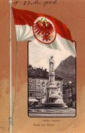 BOZEN-BOLZANO-GRUSS AUS BOZEN-WALTHER DENKMAL-CARTOLINA DATATA 19-5-1906 - Bolzano (Bozen)