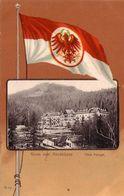 BOZEN-BOLZANO-GRUSS VOM MENDELPASS-HOTEL PENEGAL-CARTOLINA ANNO 1900-1904 - Bolzano (Bozen)