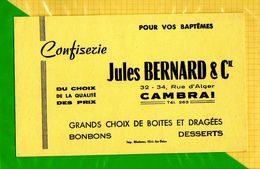 BUVARD & Blotting Paper : Confiserie JULES BERNARD Cambrai - Cake & Candy