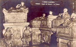 PERUGIA-UMBRIA ILLUSTRATA-TILLI-CARTOLINA VERA FOTOGRAFIA-SERIE N. 143-ANNO 1910-20 - Perugia