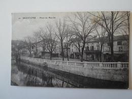 DORDOGNE    Brantome  Place Du Marché - France