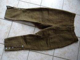 Pantalon Troupe Velour Cotelé - 1914-18