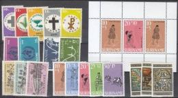 Suriname 1968 Year - Complete - MNH/**/Postfrisch - Suriname ... - 1975