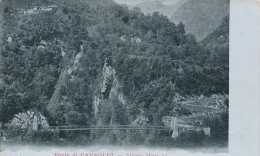 T.263.  Ponte Di CAVAGLIO - Verbania - 1907 - Altre Città