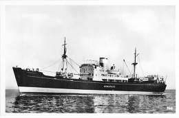 """ M.S. GODAFOSS "" ( Iceland Steamship Co Ltd - Reykjavik )  BATEAU DE COMMERCE Cargo Merchant Ship Tanker - CPSM Photo - Handel"