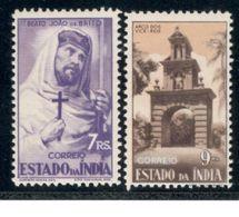 PortugeseIndia1946: Michel434-5mh* - Portuguese India