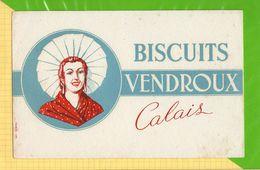 BUVARD & Blotting Paper : Biscuits VENDROUX Calais - Cake & Candy