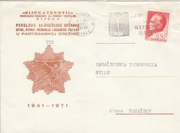 YUGOSLAVIA Cover Letter 21 - Ohne Zuordnung