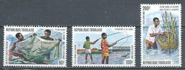 Togo Poste Aérienne YT N°226/2528 Pêche Dans La Lagune Neuf ** - Togo (1960-...)