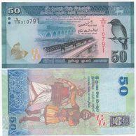 Sri Lanka - 50 Rupees 2010 AUNC Lemberg-Zp - Sri Lanka