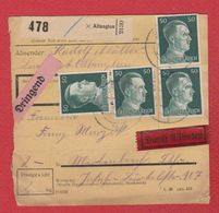 Colis Postal Départ Altenglan-  23/12/1942 - Allemagne