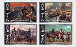 Gibraltar 2011 - 1300th Ann. Of Tariq Ibn Ziyad Stamp Set Mnh - Gibilterra