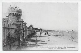 Hyeres-les-Palmiers. - La Plage - Le Boulevard - Ligne Du Sud De La France - Hyeres