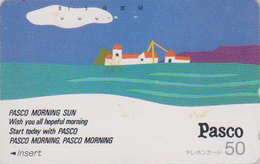 Télécarte Japon / 110-26140 - Peinture - Pasco Morning Sun - Painting Japan Phonecard / Teleca - Kunst TK - Landschaften