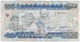 Nigeria 50 Naira 2001 Pick 27.c Pick 27.c Ref 1516 - Nigeria