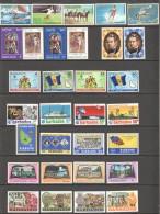 BARBADOS  1971-3  9 Commemorative Series  UM And MM = MNH And MH - Barbados (1966-...)