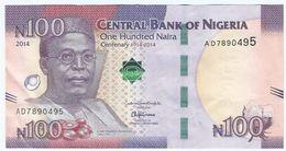 Nigeria 100 Naira 2014 Pick 41 Ref 1517 - Nigeria
