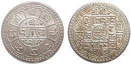 2 Mohars 1926 (Nepal) Silver - Nepal