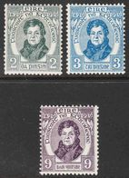 Ireland - Scott #80-82 MH (2) - 1922-37 Stato Libero D'Irlanda