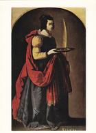 MUSEE DE CHARTRES - Francisco ZURBARAN ( 1598-1662 ) Sainte-Lucie - Musées