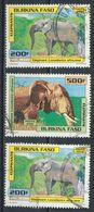 °°° BURKINA FASO - Y&T N°1236/38 - 2000 °°° - Burkina Faso (1984-...)