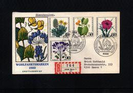 Deutschland / Germany 1980 Medicinal Plants FDC - Heilpflanzen