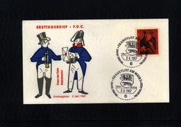 Deutschland / Germany 1967 Franz Von Taxis FDC - Post