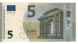 "5 EURO  ""UC""   Firma DRAGHI   U 007 G3  Serie UC6167333728 /  FDS - UNC - EURO"
