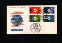 Deutschland / Germany 1973 Umweltschutz FDC - Umweltschutz Und Klima