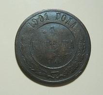 Russia 1 Kopek 1901 - Rusia