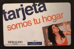 ESPAÑA. TARJETA HERALDO DE ARAGÓN. - Otras Colecciones