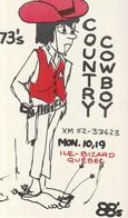 Country Cowboy XM 52 - 33623 Ile-Bizard, Quebec - CB